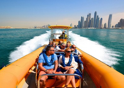 Dubai Incentive: Sightseeing mit Speedboat