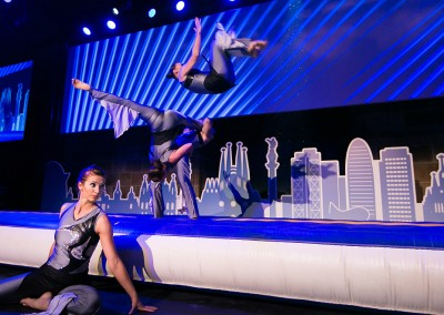 Gala night in Barcelona: Breathtaking acrobatics