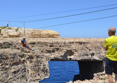 Malta Incentive: abseiling on Gozo