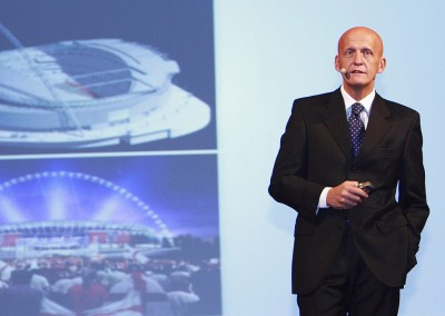 Product Launch: Key Note Speaker Pierluigi Collina