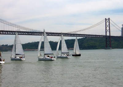Lisbon Incentive: sailing on the Tejo